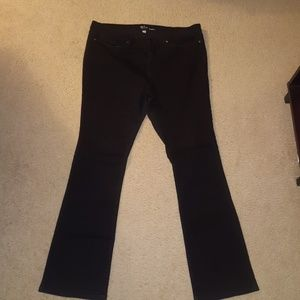 New York & Company Jeans - Black bootcut jeans